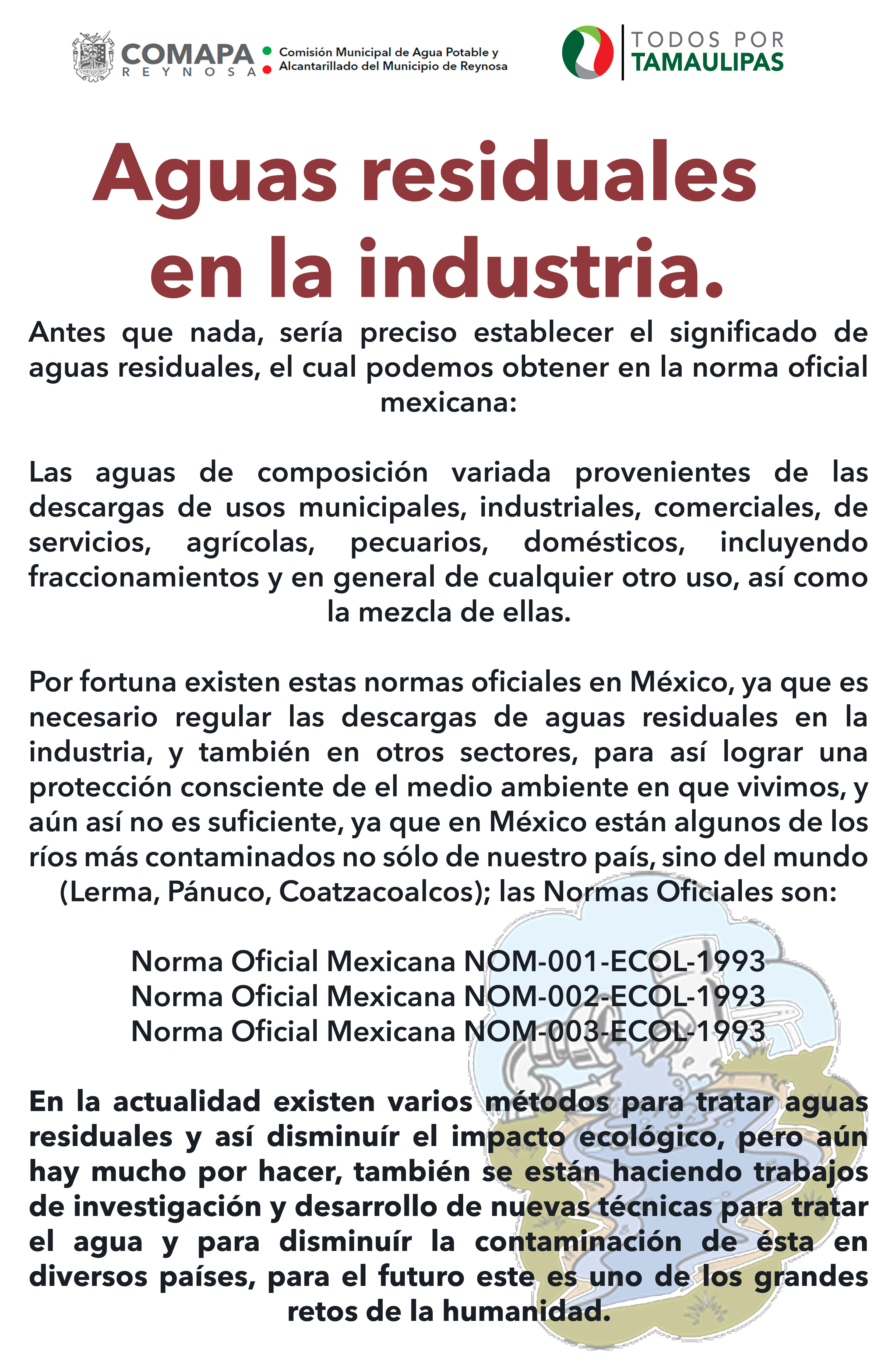 Aguas residuales en la industria